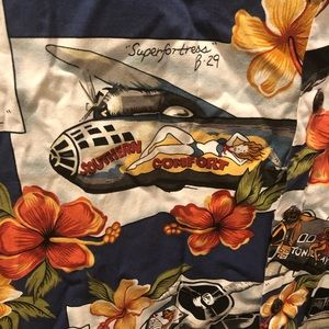 kalaheo Shirts - Kalaheo Hawaiian dress shirt USS Midway 2XL